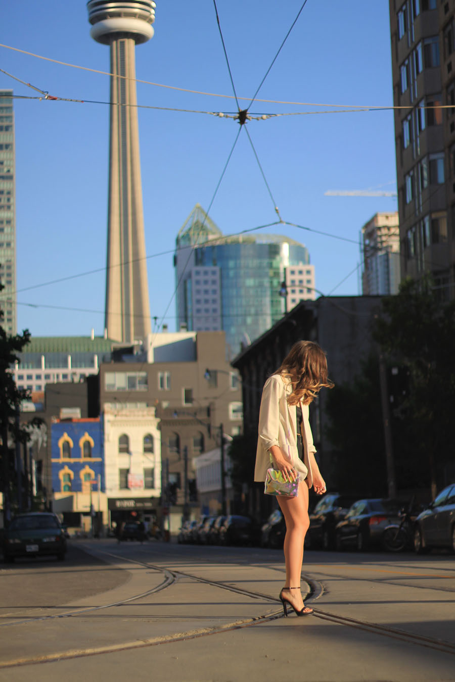 blogger style outfit toronto street