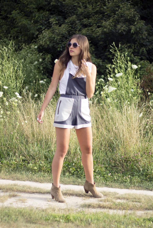 fabric overalls