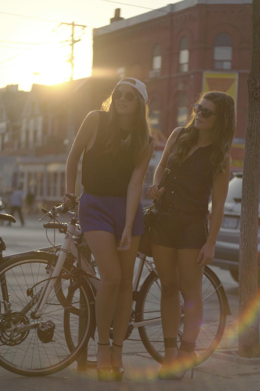 bikes style toronto downtown spadina