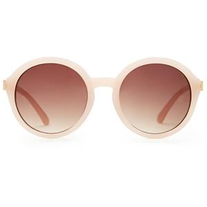 blush pink forever 21 round plastic sunglasses.jpg