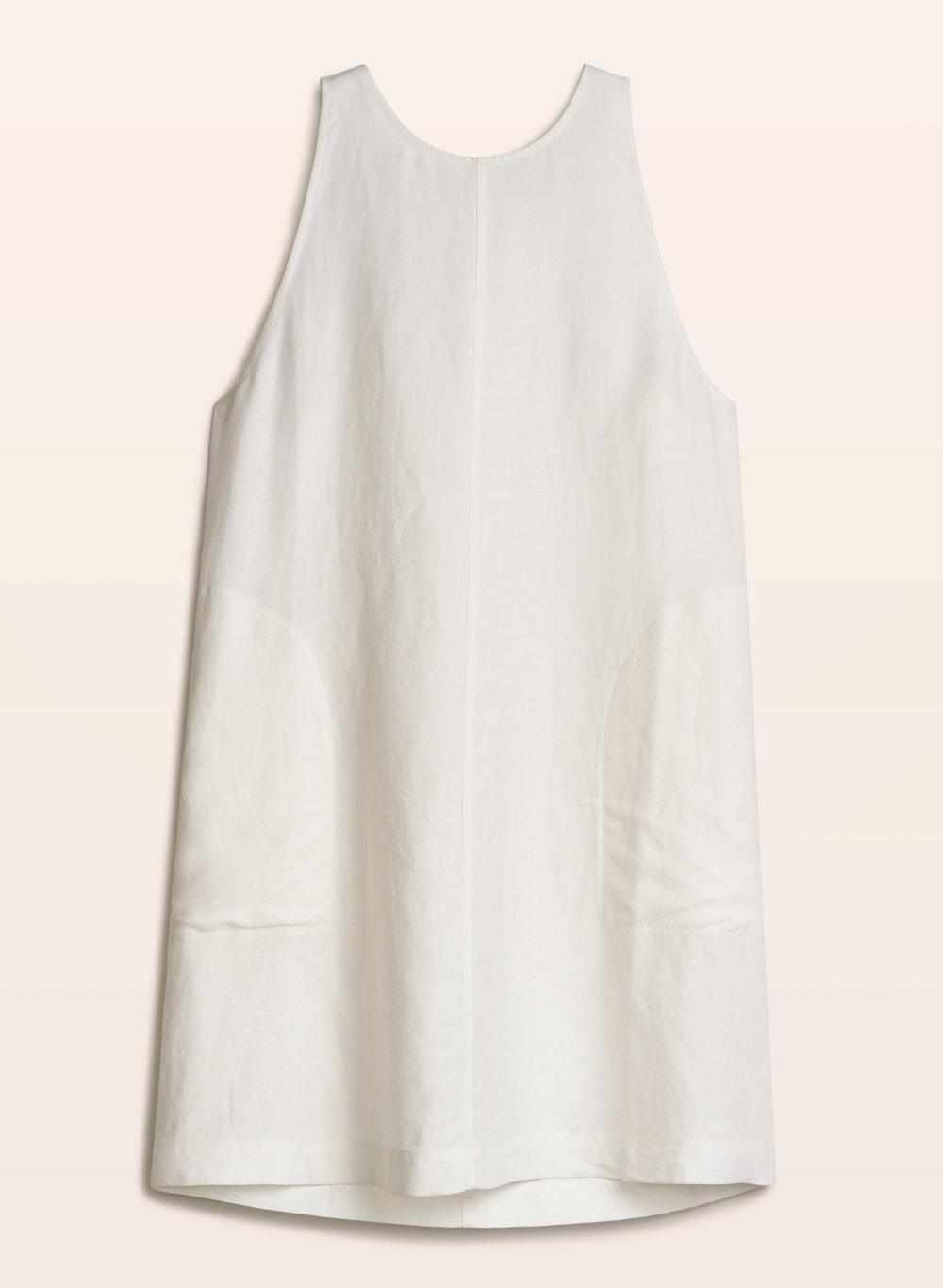Wilfred trompette dress white.jpg