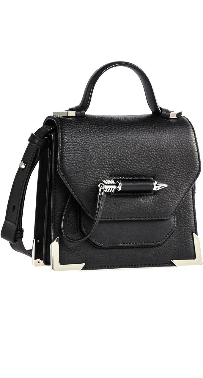 mackage rubie black mini crossbody bag arrow silver.jpg