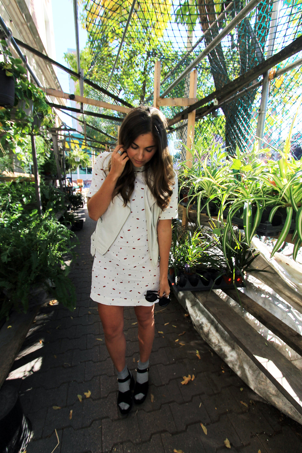 & other stories dress topshop white leather vest moto outfit street style.jpg