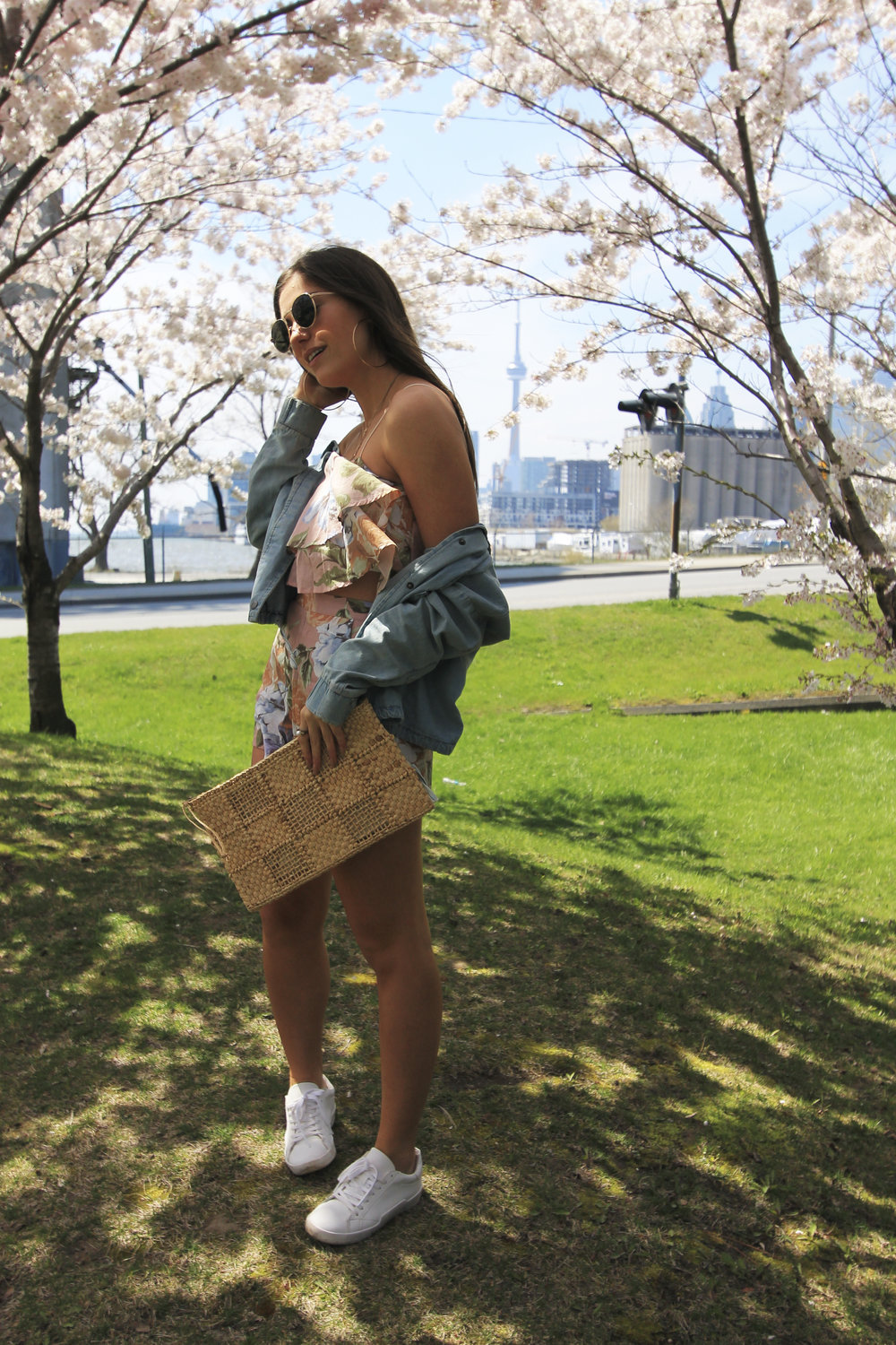 cherry blossoms toronto cn tower style fashion blogger outfit spring.jpg