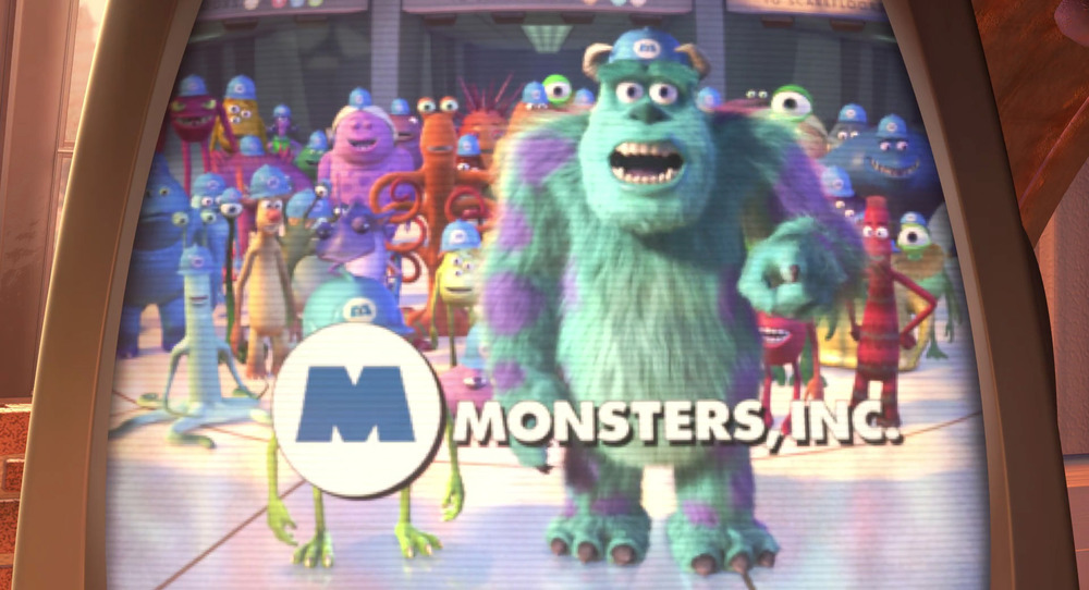 Image courtesy of  Pixar ,  Monsters Inc. , All Rights Reserved