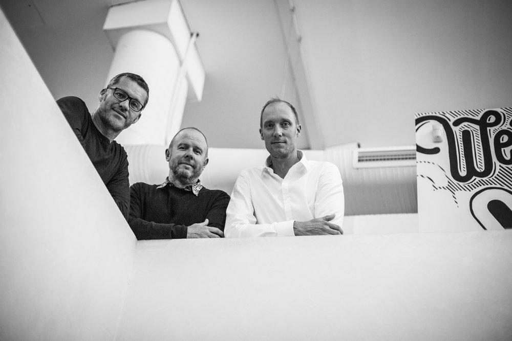 Simon Lee, Mat Rawnsley, Jules Hall