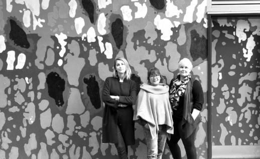(L-R) Hannah Sturrock, Tisha Lazaro, Wilmari Pienaar