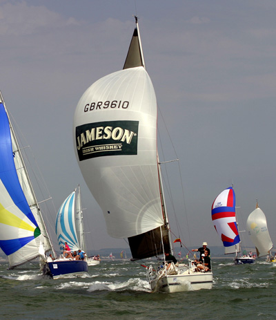 Jules Hall's sailing career was fuelled by Jameson Whiskey