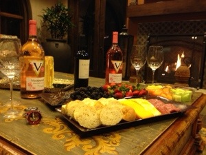 Wine night at Carmel Pacific Ridge
