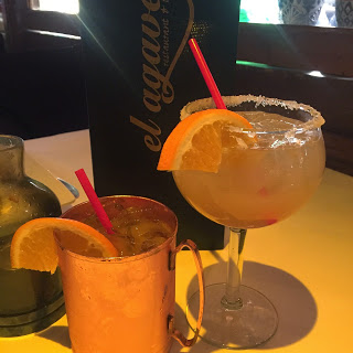 Tequila Mule and Cadillac Margarita