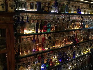One of Many Shelves of Tequila