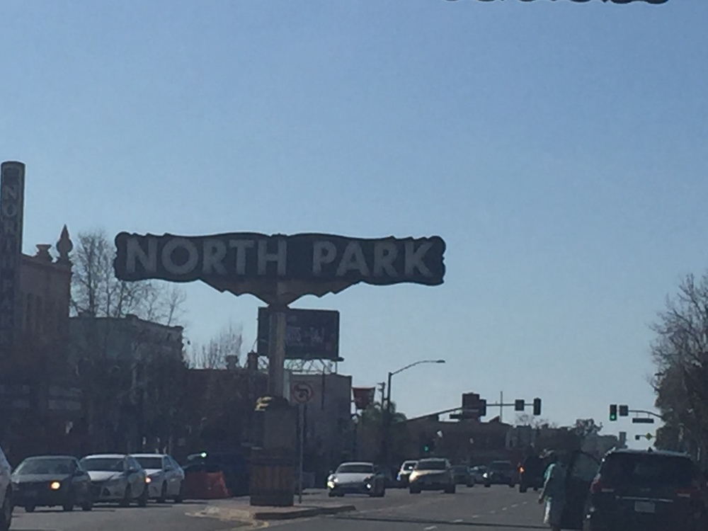 The North Park Sign