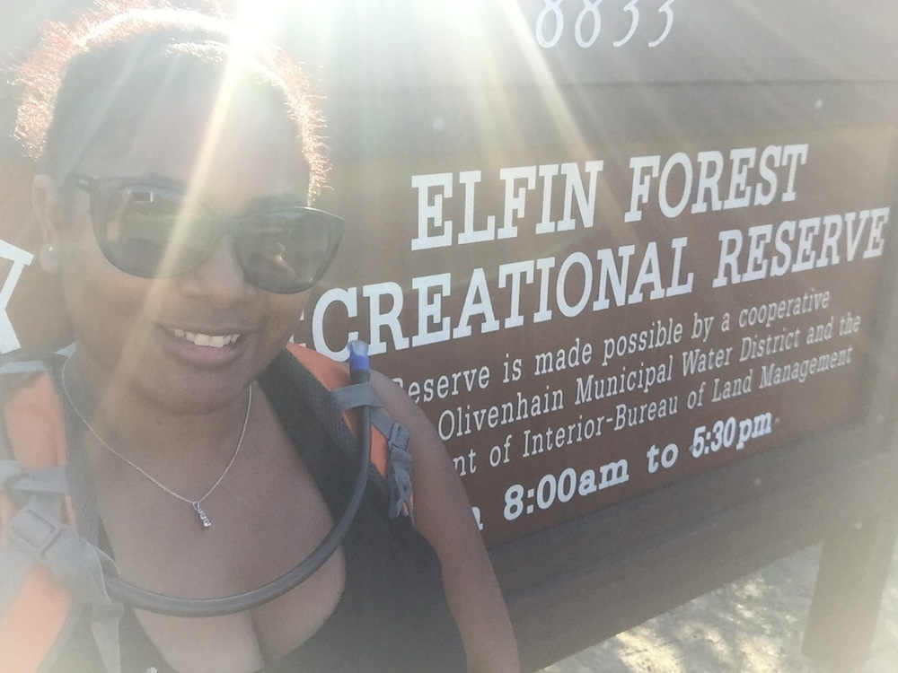 Went hiking at Elfin Forest a week ago!