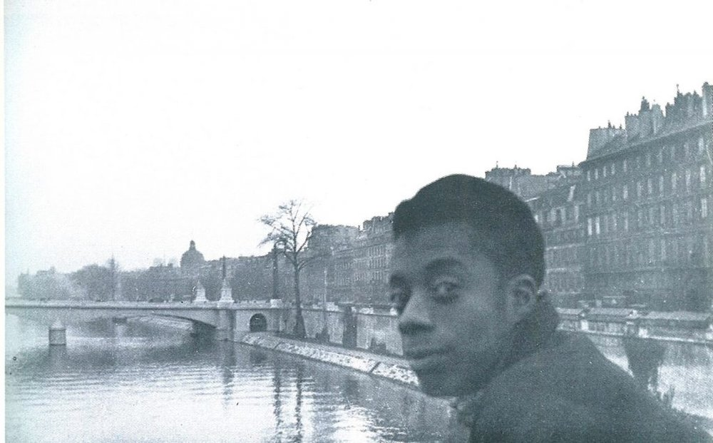 A young James Baldwin