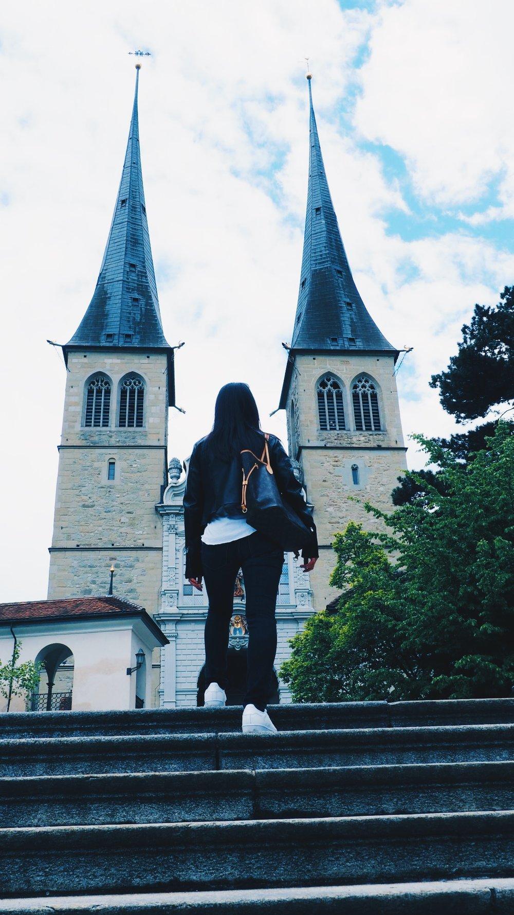 A church in Luzerne