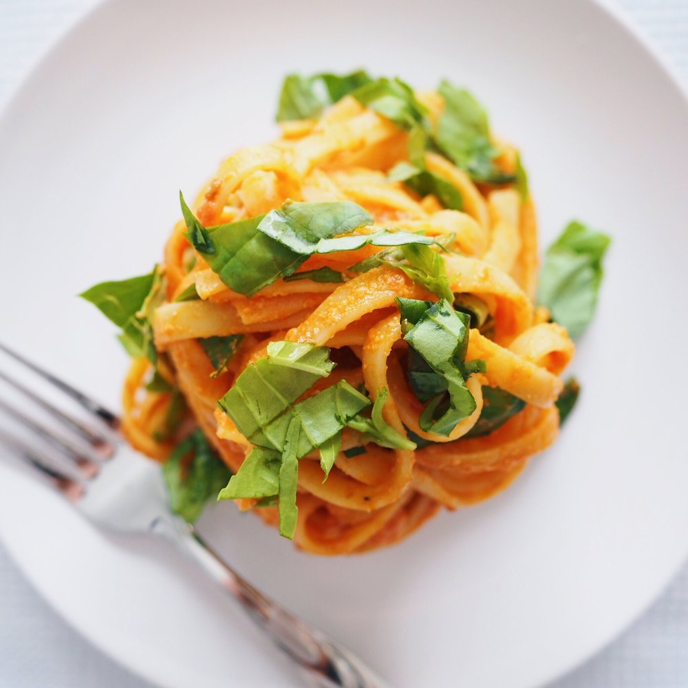 Creamy Tomato Garlic Pasta.JPG