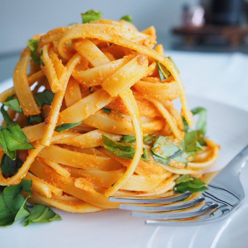 Creamy Tomato Garlic Pasta(1).JPG