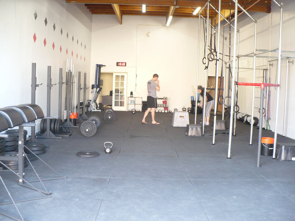 Our original space in 2009.