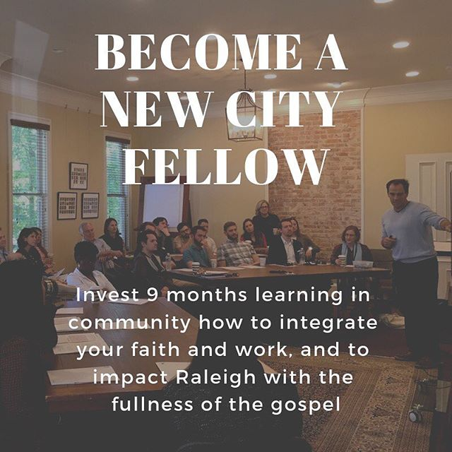 Interested in becoming a Fellow this fall? Grab a friend and join us for our Prospective Fellows Info Dinner on March 11, 6:30-8pm, at the Dillon downtown. Find out more or RSVP at our website (in bio) or newcityfellows.eventbrite.org