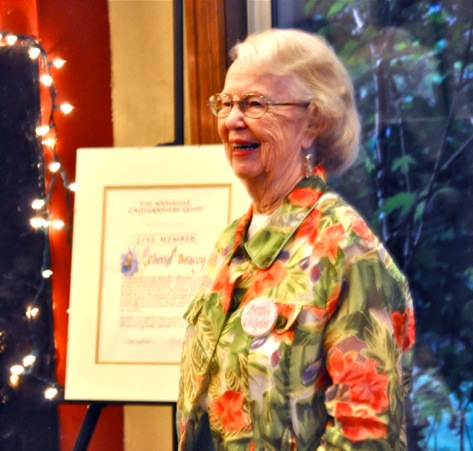 NCG 30th Anniversary. Guild Founder and former president Betty Gilpin.