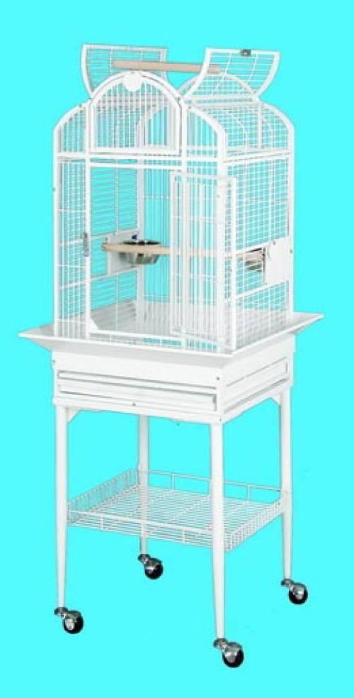 Tall Bird Cage With Shelf Underneath | Bird Supplies Mineola