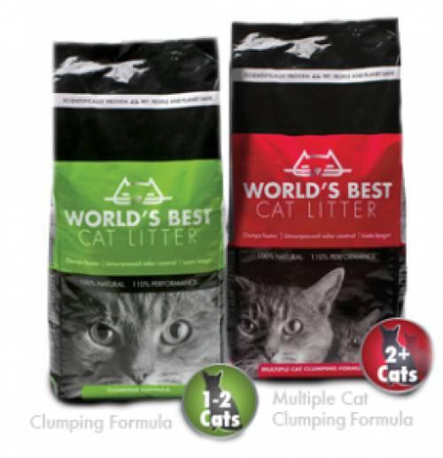 World's Best Cat Litter Logo | Cat Litter
