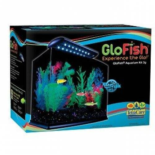 GloFish Glow Aquarium | Glow in the Dark Fish Tank | Fish Tanks For Sale Mineola