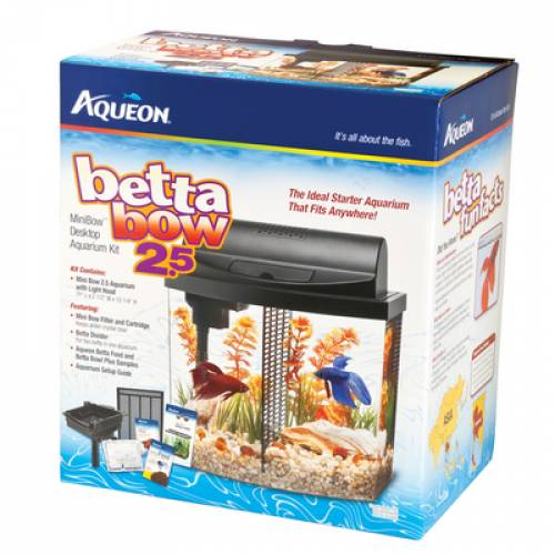 Aqueon BettaBow 2.5 Aquarium | Betta Fish Tank Brooklyn | Fish Supplies Mineola