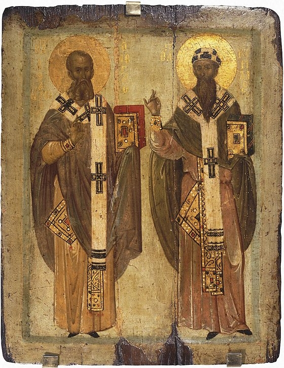 Saints Athanasius and Cyril - The Great Egyptian Teachers