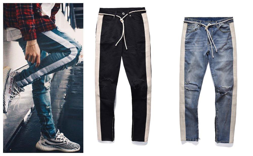 side stripe ripped jeans lemi uk streetwear.jpg