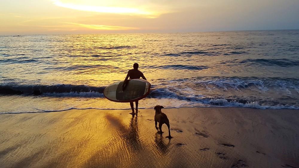 Jorge & PJ, Lo de Marcos beach