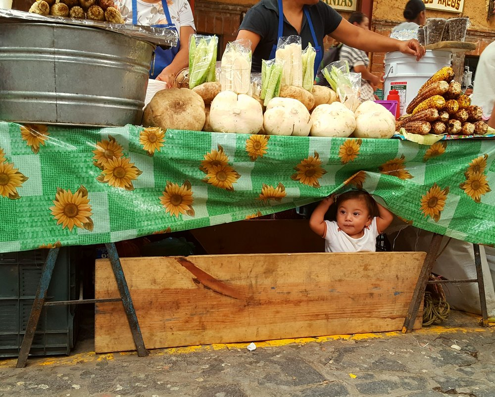 Photo taken at San Miguel de Allende Mercado.