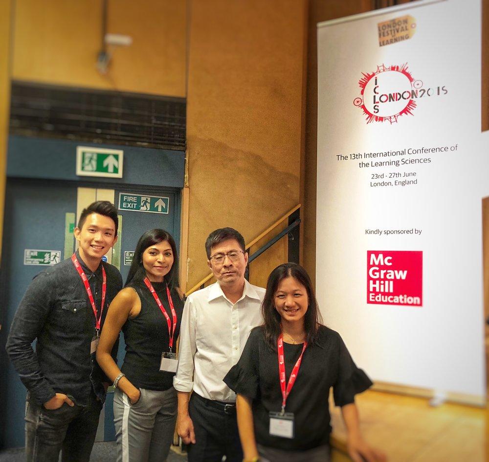 Team Singapore @ ICLS!