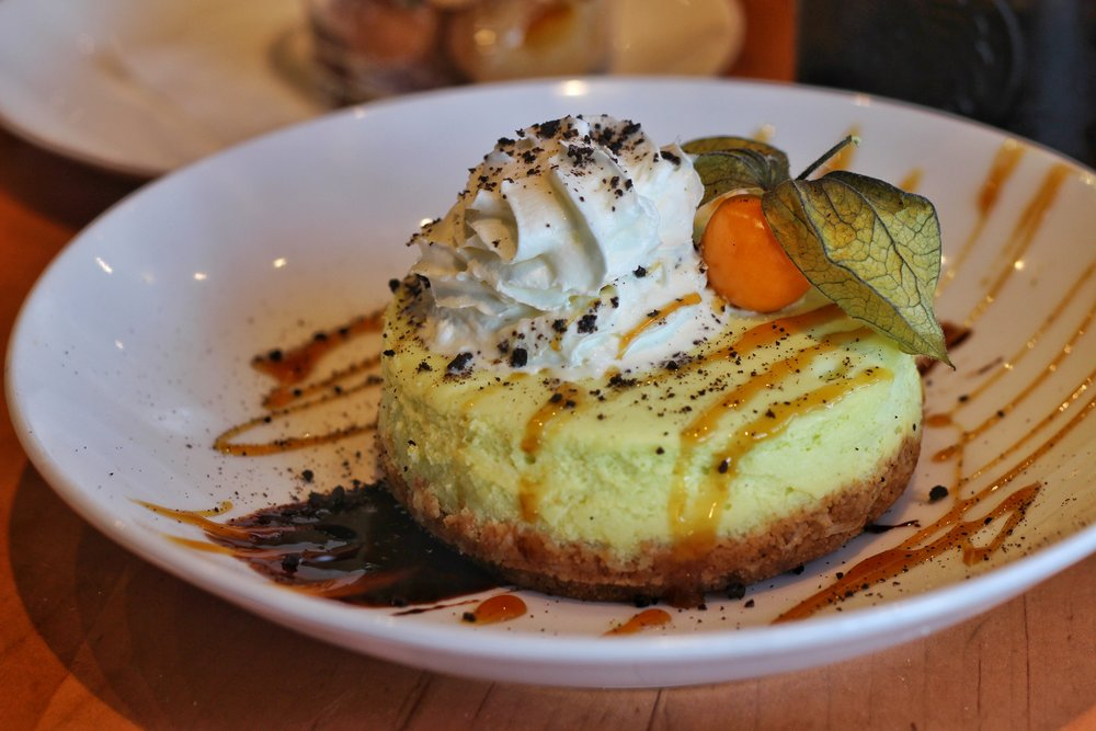 Chef's Seasonal Cheesecake  – Pandan Cheesecake