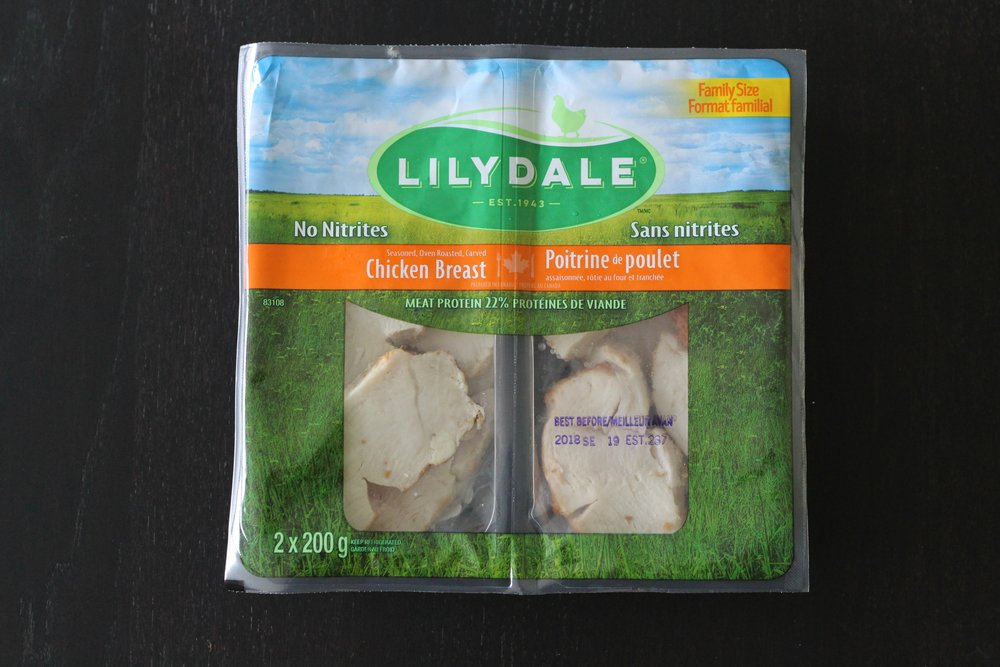 Lilydale Oven Roasted Carved Chicken Breast   - fully cooked and carved cuts of Canadian lean chicken breast