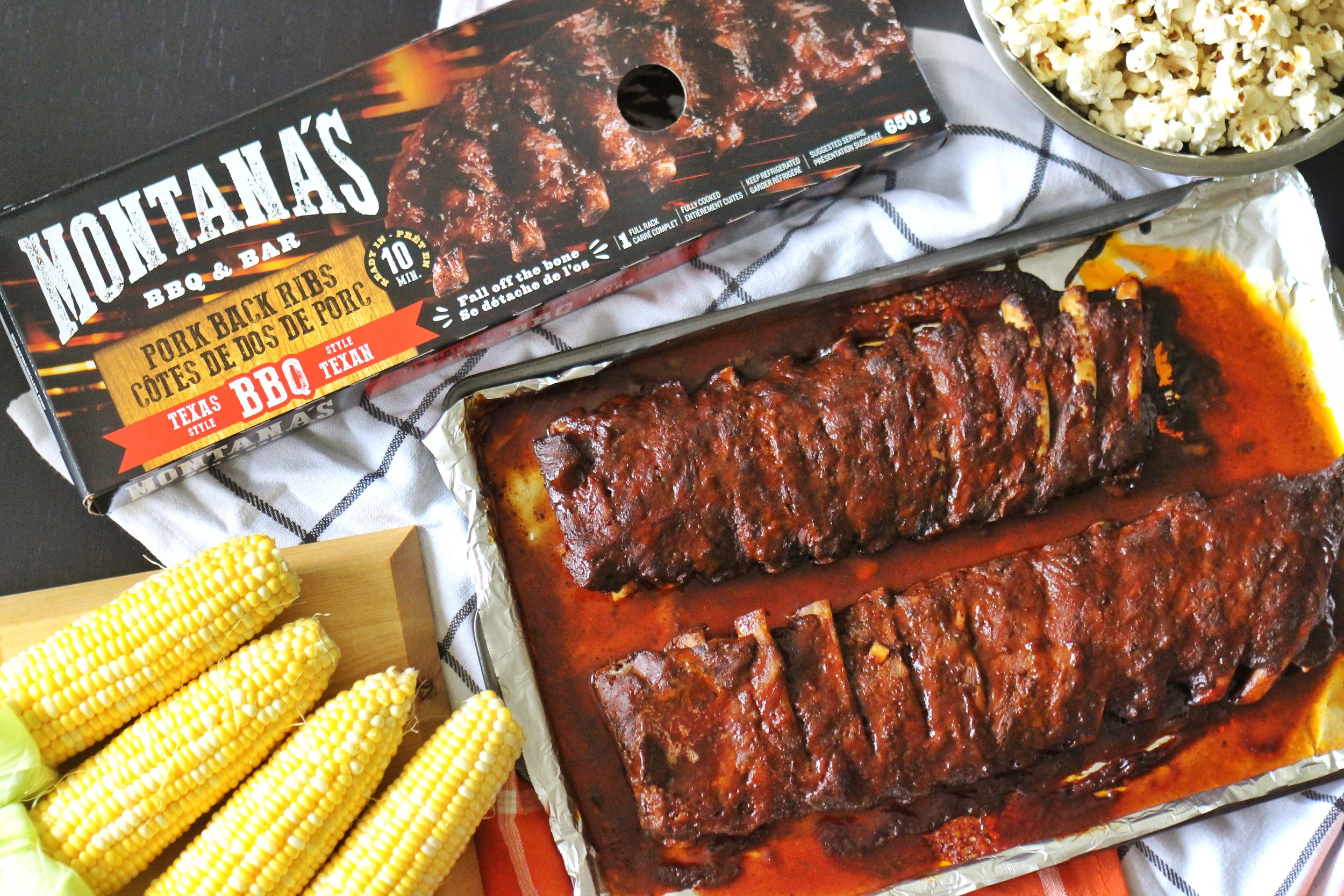 Football Month With Montana S Ready To Eat Ribs The Everyday Foodie