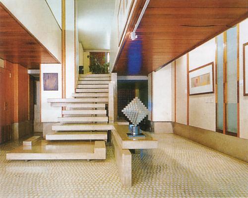 图4 Olivetti Showroom室内,威尼斯