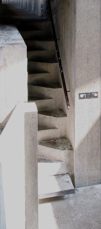 图11 Castelvechhio的楼梯