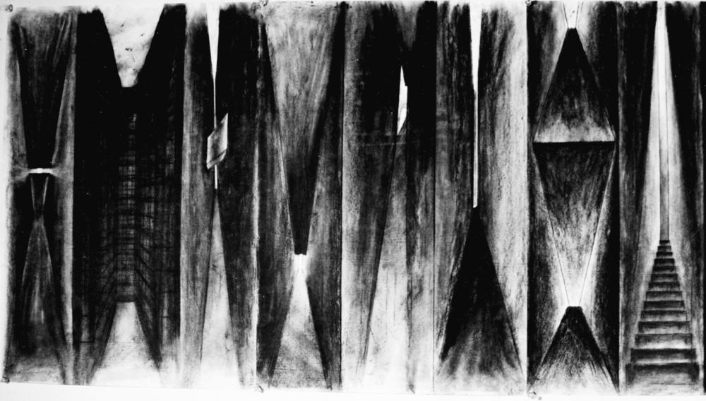华黎在耶鲁的《空间奥德赛》作业之一:明与暗的思考