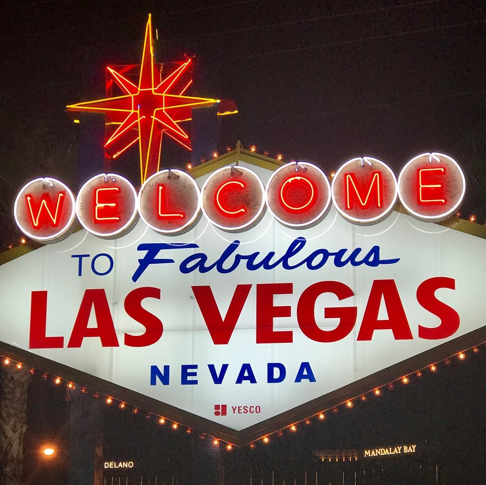 welcome to vegas sign