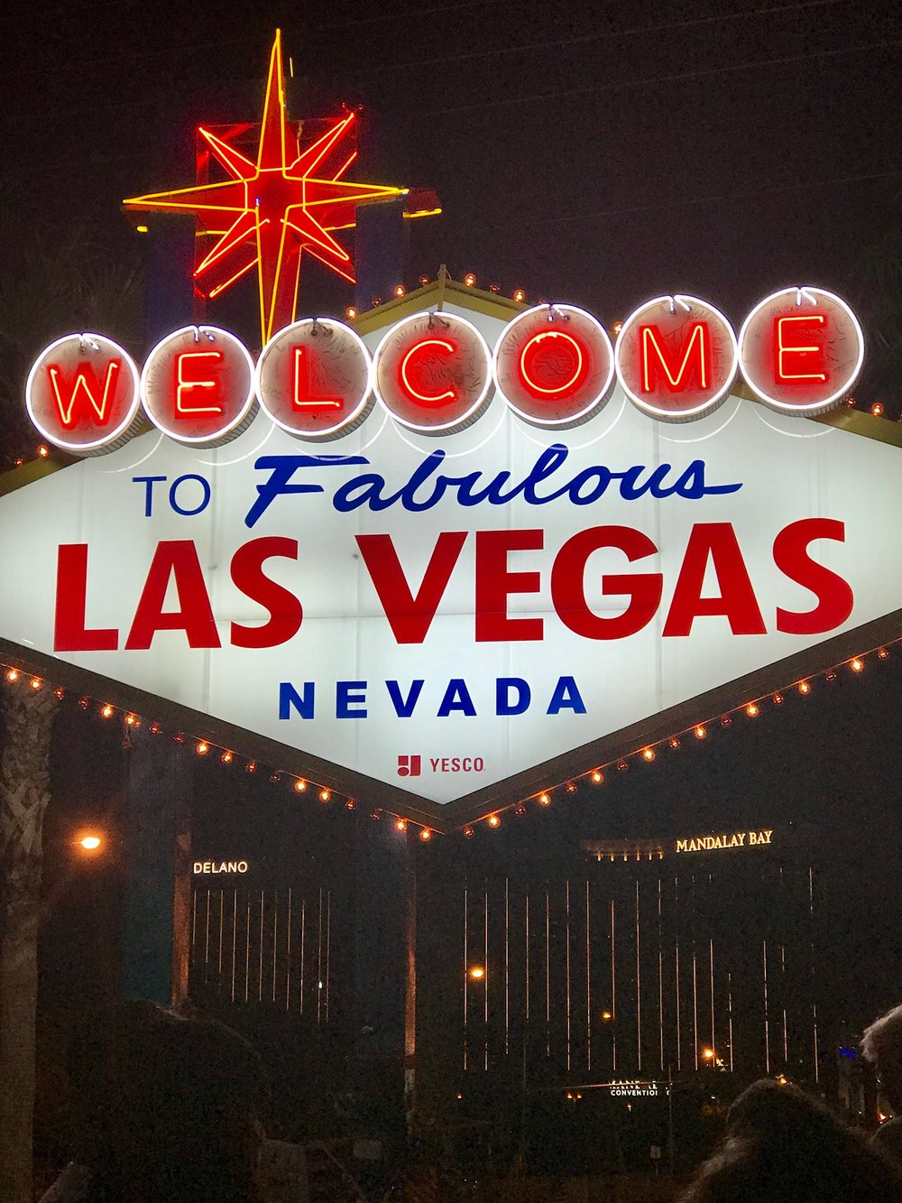 las vegas welcome sign