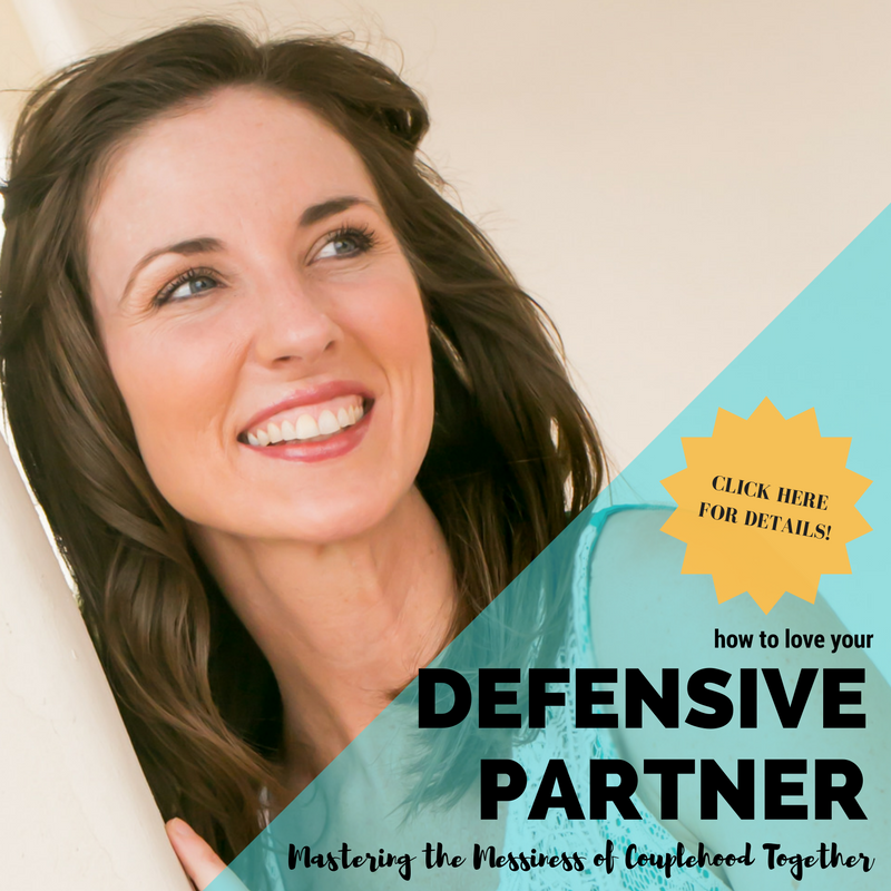 Lanie Smith, MPS, ATR - How to Love Your Incredibly Defensive Partner OCTOBER 21, 2016
