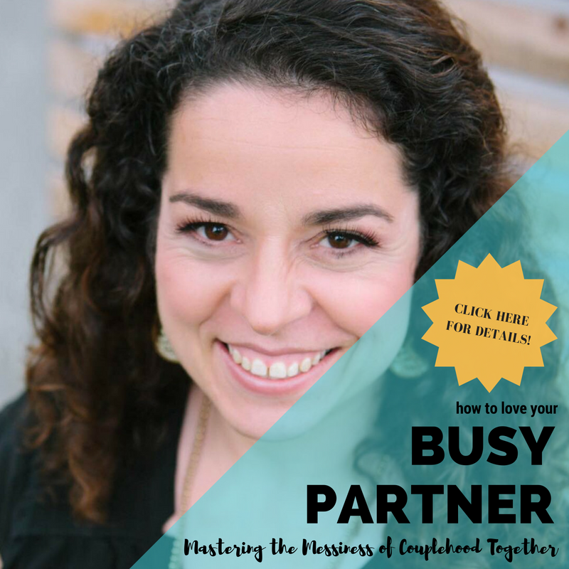 Rebecca Wong, LCSW - How to Love Your Busy Partner OCTOBER 18, 2016