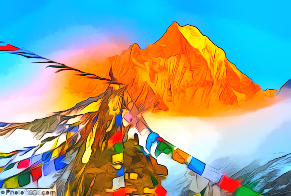 everest prayer flags, flags.jpg
