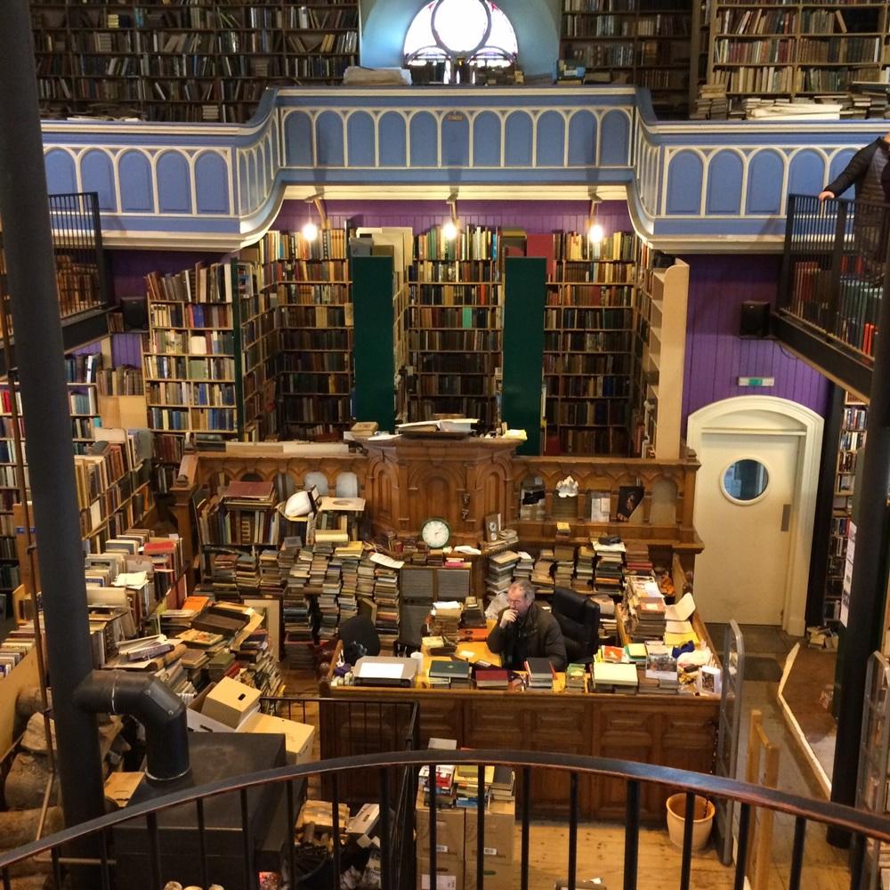 Leakey's Bookshop in Inverness, Scotland.