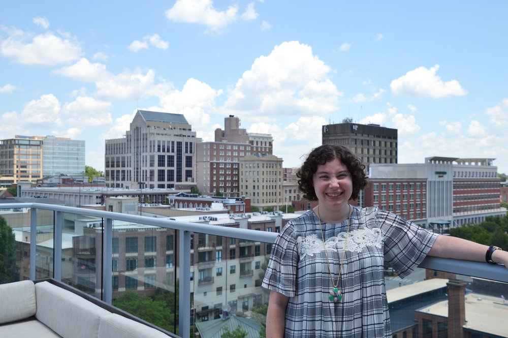 The real me, Up on The Roof, with photo credit to Dorothy from Prep In Your Step.