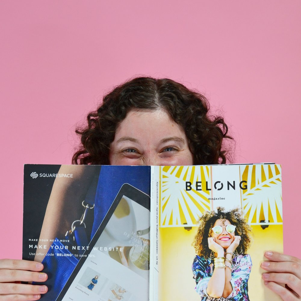 "Belong Magazine is for ""the art and community of blogging, social media, and entrepreneurship."" What could be better?"