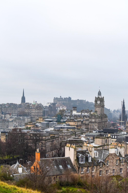 Edinburgh in all its glory.