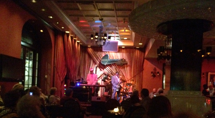 One of many jazz clubs in New Orleans.