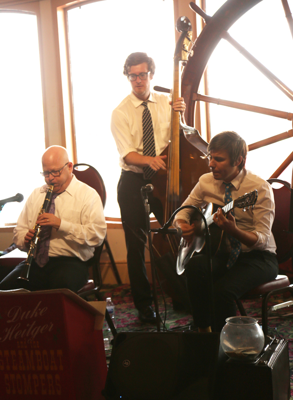 The Natchez even had a live Jazz band (and great food…as usual)!